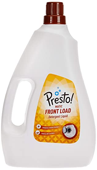 Amazon Brand - Presto! Matic Front Load Detergent Liquid - 1 L