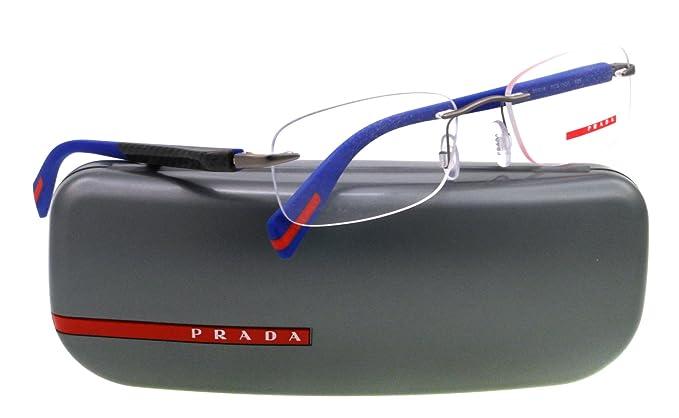 Occhiali da vista per uomo Prada Linea Rossa PS53DV 7CQ1O1 - calibro 55 2dijdFtJlL