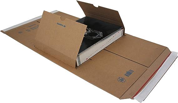mm 230x165x15//80-25 pz a conf. F.to int Scatole in cartone con alette fustellate per spedizioni Carte Dozio