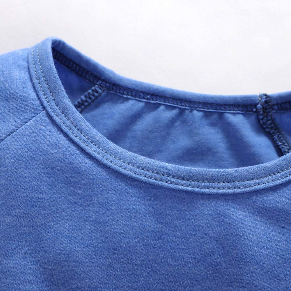 Kobay Baby Kleid Weihnachten Kleinkind Baby Kinder M/ädchen Weihnachten Weihnachten Cartoon Schneemann Print Kleider Outfits