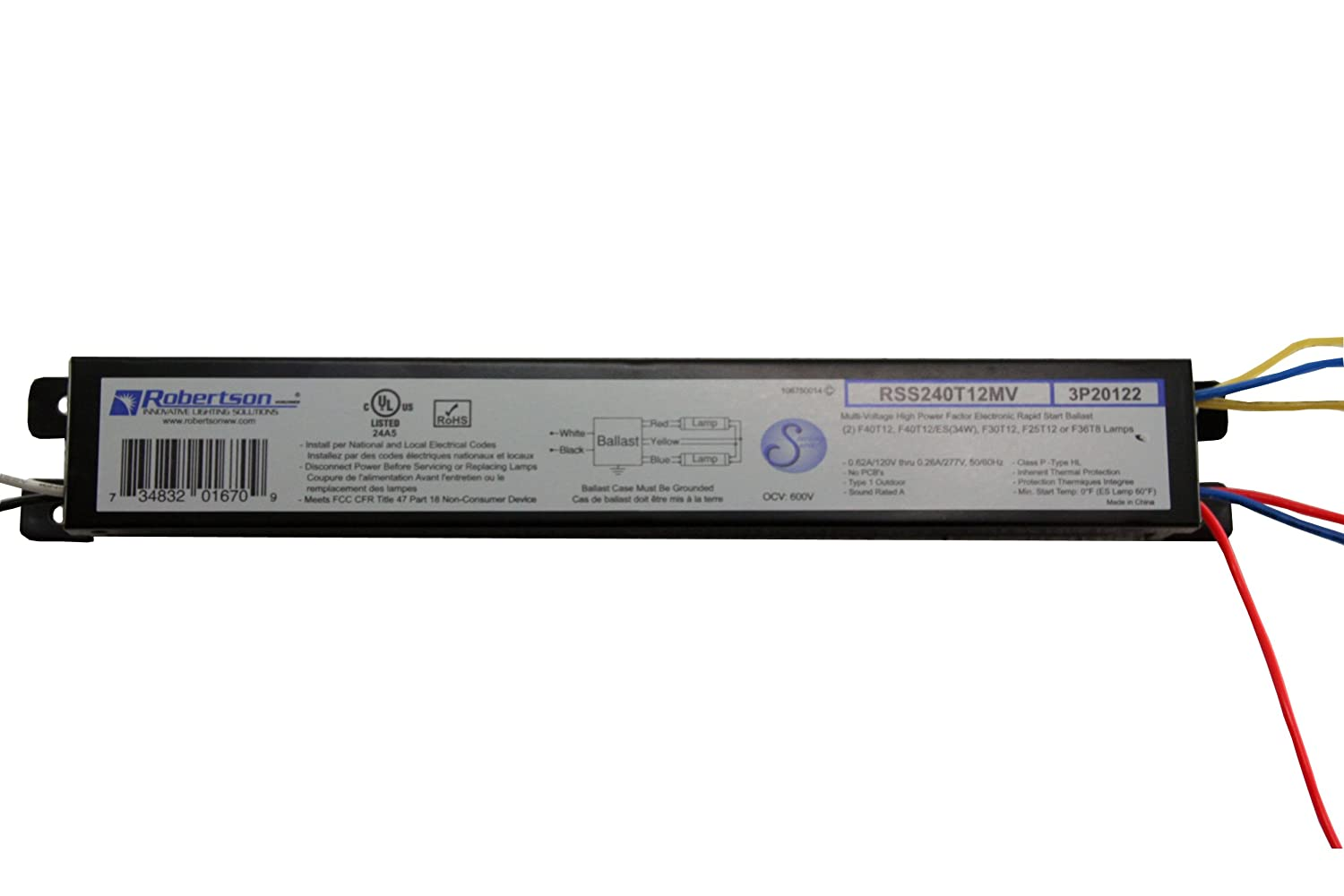 Replacement For UNIVERSAL B240R120HP Ballast