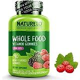 NATURELO Whole Food Vitamin Gummies for Kids - Organic Great Tasting Berry Flavor - Non - GMO - All Natural Vitamins & Minerals 90 Gummies
