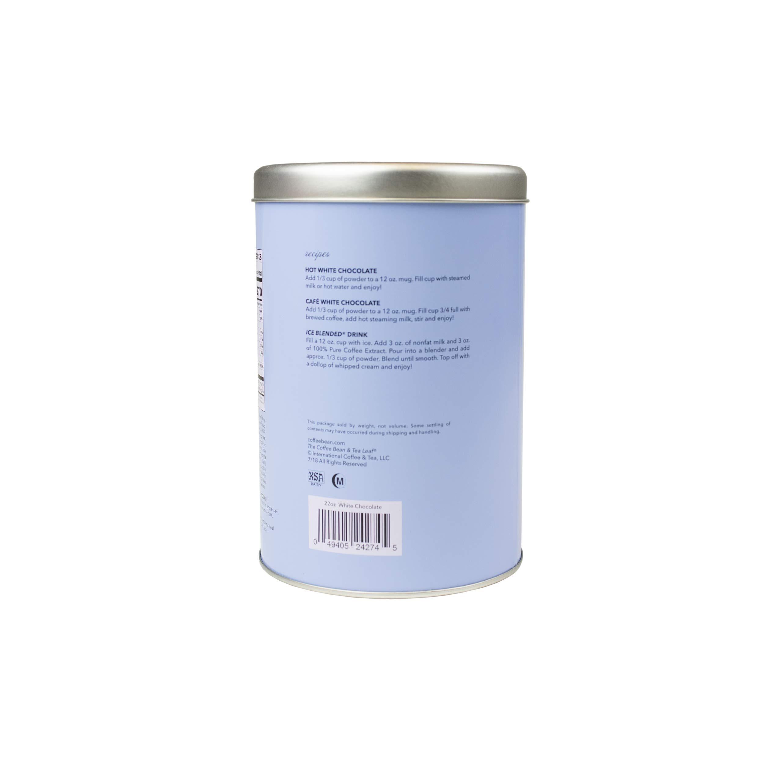 The Coffee Bean & Tea Leaf White Chocolate Powder, 22-Ounce Container by Coffee Bean & Tea Leaf (Image #3)