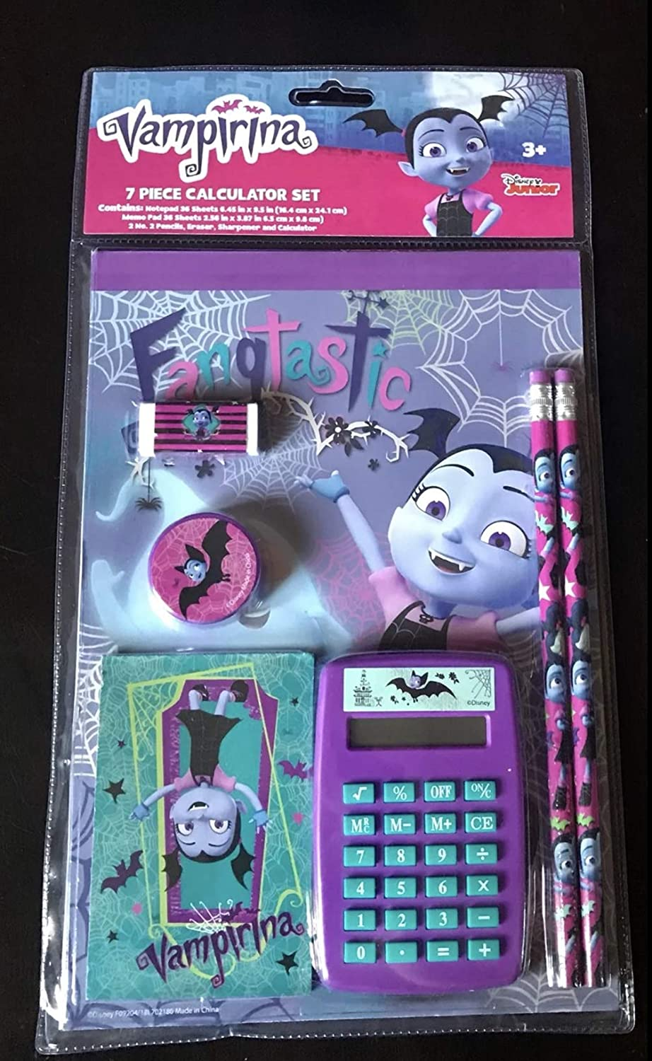 Vampirina 7 Piece Calculator Set Innovative Designs