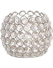 Emporio marroquí luces de mesa portavelas de cristal