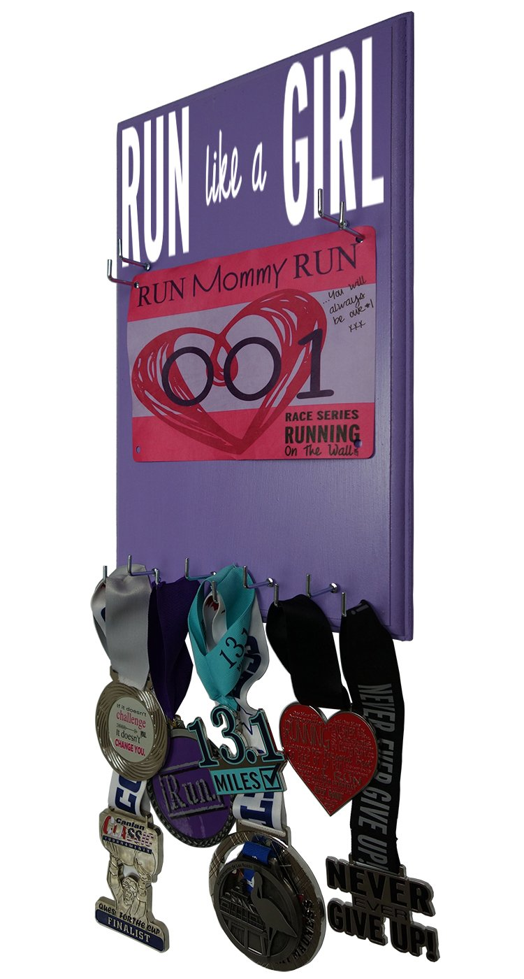 Amazon.com : RunningontheWall Medal Hanger Medal Display ...