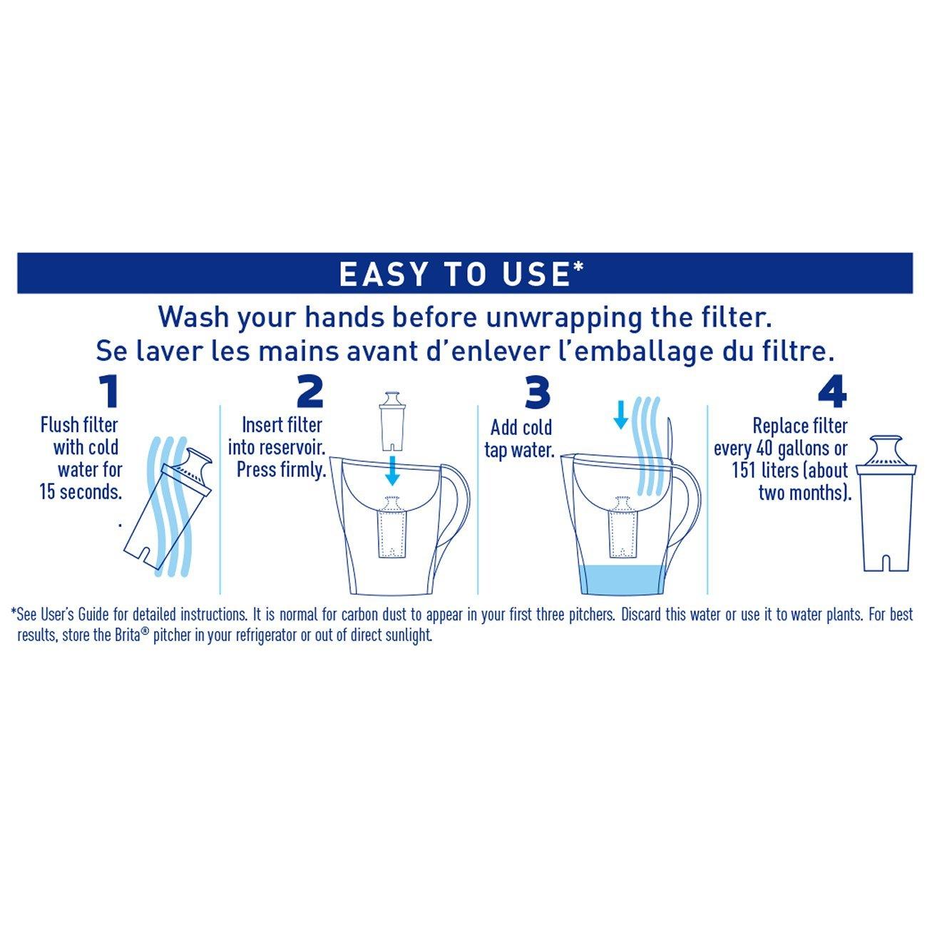 Brita Grand Water Filter Pitcher by Brita (Image #11)