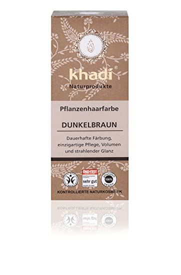 khadi pflanzen haarfarbe dunkelbraun i natur haarfarbe enthà lt