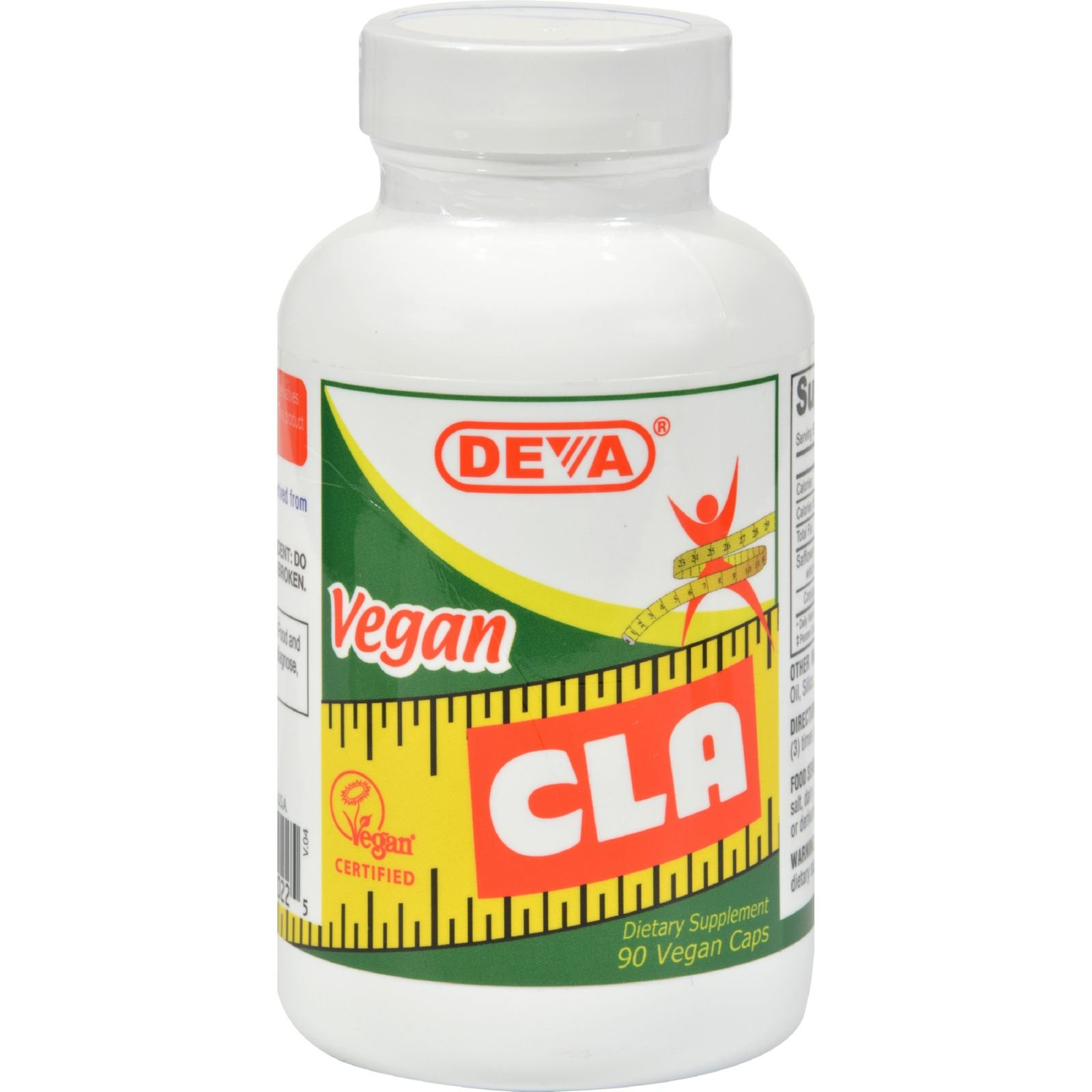 Deva Vegan Vitamins Deva CLA - Gluten Free- 90 Vegan Capsules (Pack of 2)