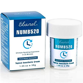 Amazoncom Ebanel 5 Lidocaine Topical Numbing Cream For