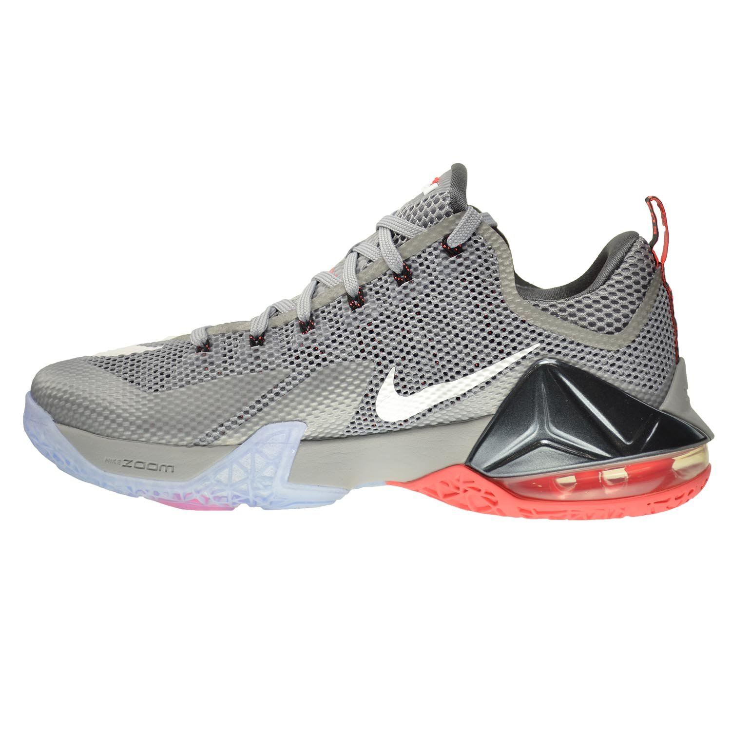 new products 9ddb6 a5992 ... discount code for amazon nike lebron xii low mens shoes wolf grey white  dark grey hot