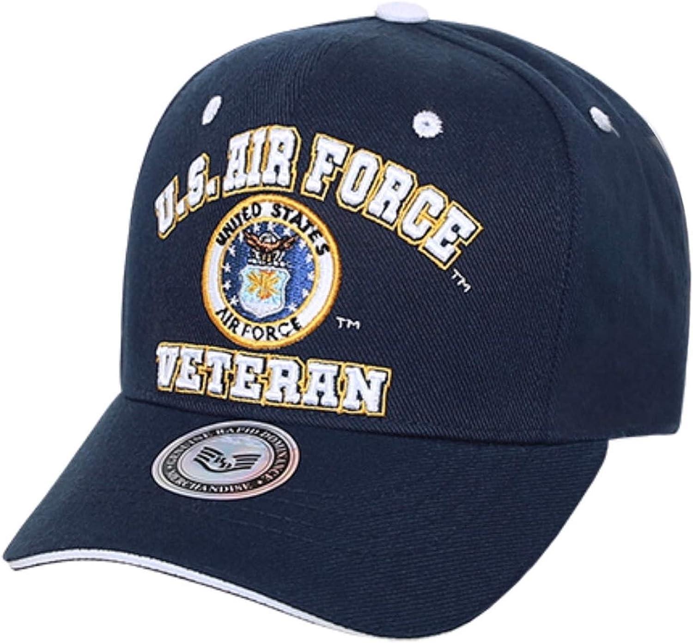 Air Force Veteran  Hat Blue Cap USAF MILITARY U.S
