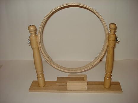 Bastidor de bordado a mano de madera – Diademas ad Incastro sin tornillos – Artesanal
