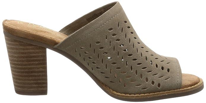 Toms Mallorca Cuero Mula Zapatos NegroAmazon De esY thQdrsCx