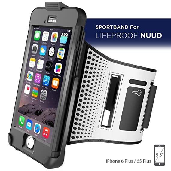 promo code 8fe08 0419d Workout Armband for LifeProof NUUD Case - iPhone 6 Plus 5.5