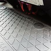 Colore: Nero con Scritta 2 tappetini Anteriori Originali T5//T6 Tappetini in Gomma per Tutte Le Condizioni atmosferiche Volkswagen 7H1061502B82V