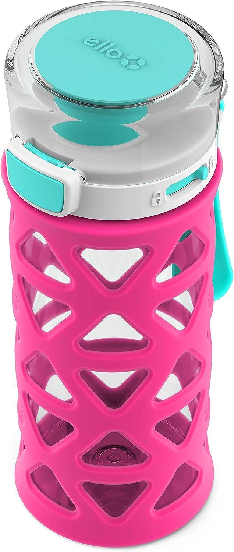 Ello Dash Kids Water Bottle 16oz. Tropic Pink//Mint 2pk