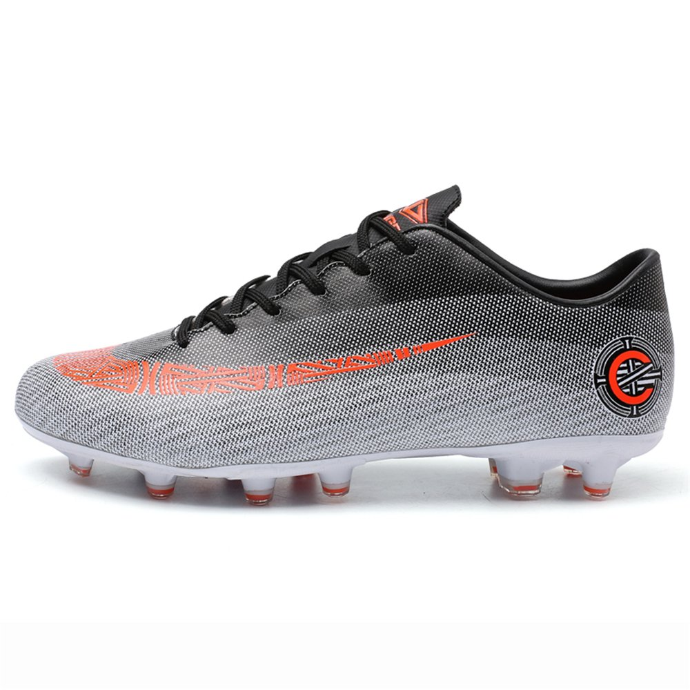 New Soccer Shoes 2018 Superfly 6 FG Cleats Cr7 Football Boots for Men Superfly VI Elite Adult B07FFMCM4Q Men US9.5=EU43=26.5cm|Gray