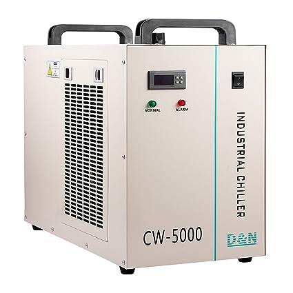 Autovictoria Autovictoria Water Chiller 6L Enfriador de Agua Industrial 10L / min Enfriador de Agua Enfriador 800W Enfriador de Agua 80 / 100W Tubo de ...