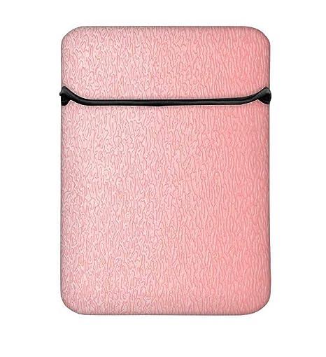 Snoogg Rosa Distorsionada Agua 8 Inch fácil acceso funda acolchada para portátil carcasa funda bolsa
