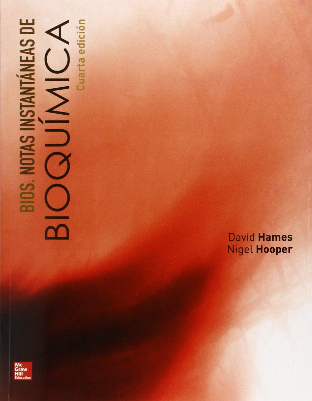 BIOS. NOTAS INSTANTANEAS DE BIOQUIMICA: Amazon.es: David ...