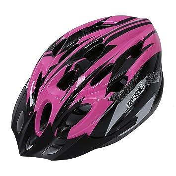 Casco - JSZ casco de bicicleta para los adultos hermoso casco de carbono con visera-