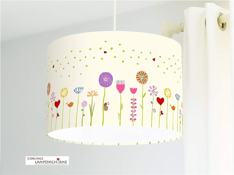 Deckenlampe Kinderzimmer Blumen