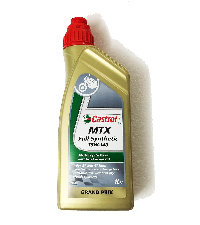 Castrol 54098 Synthetic Gearbox Oil MTX SAE 75W-140, 1 Liter Deutsche Castrol Vertriebsgesellschaft mbH