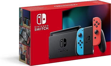 Nintendo Switch - Consola Estándar, Color Azul Neón/Rojo Neón ...