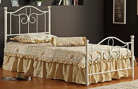 Amazon.com: Hillsdale Furniture 1354BTWMR Westfield Metal Bed Set ...
