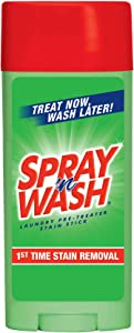 Spray n Wash Stain Stick Laundry Stain Remover 81996 3 Ounces