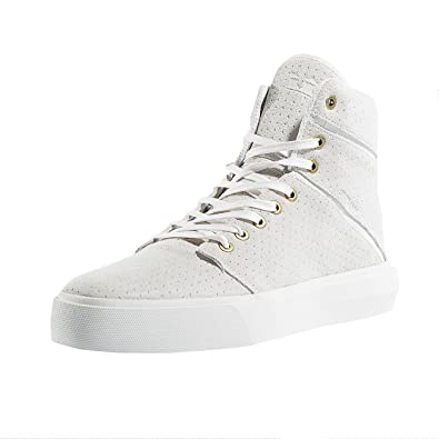 Supra Men's Camino White/White 2 Medium/8.5 C/D US Women/