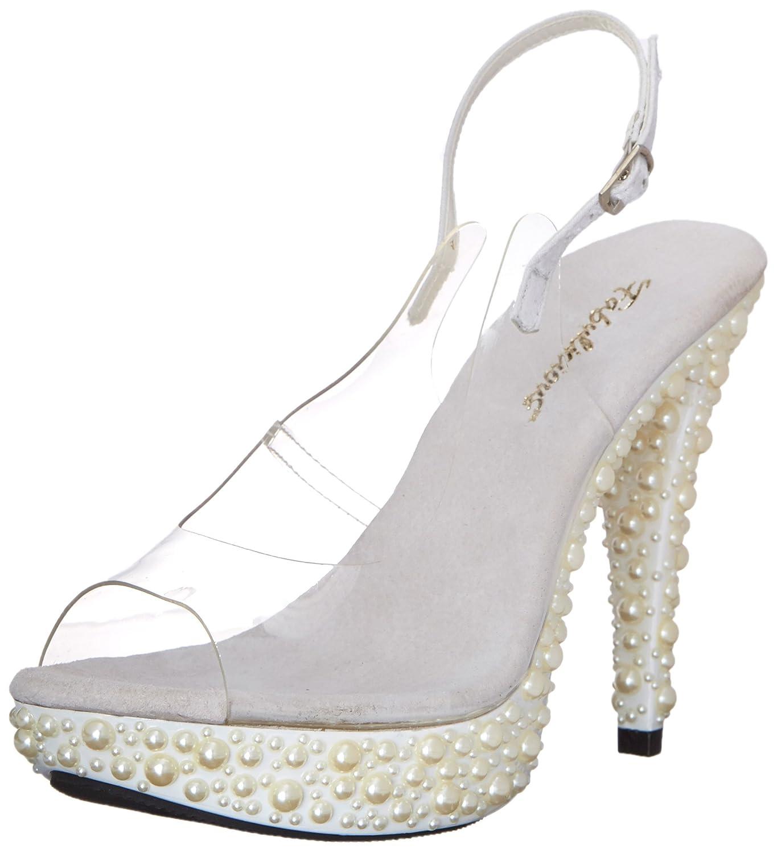 Fabulicious COCKTAIL-518 Damen Damen Damen Sandalette Clr Tpu/Wht 97bd1d