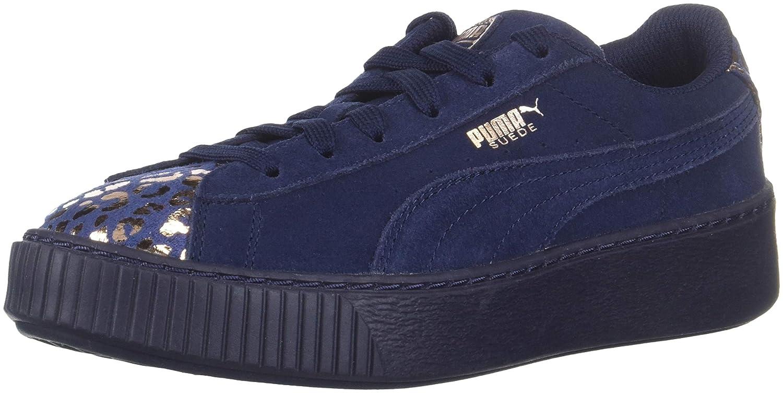 ff06de88fcf Amazon.com  PUMA Suede Platform Kids Sneaker  Shoes