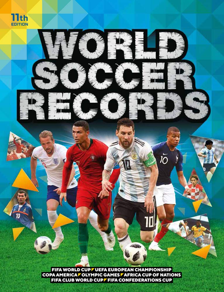 Who Won The World Cup 2020 Soccer.World Soccer Records 2020 Keir Radnedge 9781787392878