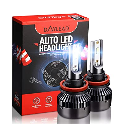 H11 LED Headlight BulbsH11 LED Headlight Bulbs Conversion Kit LED Light Bulb with Cooling Fan,12000LM 6500K Xenon White, Low Beam/Fog Light Bulb,Pack of 2: Automotive