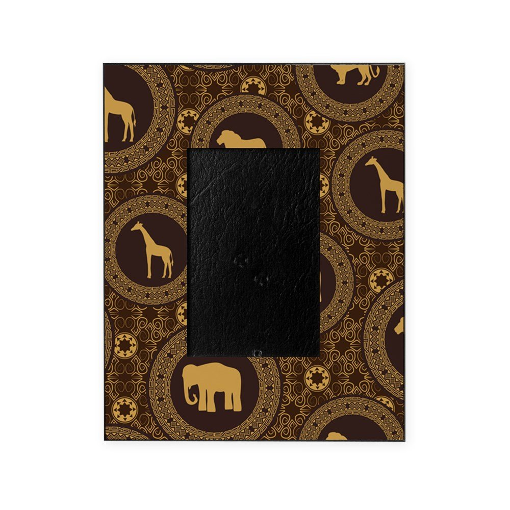 CafePress - African Animal Pattern - Decorative 8x10 Picture Frame