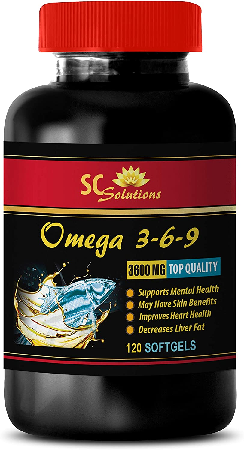Amazon Com Anti Inflammatory Supplement Omega 3 6 9 3600mg