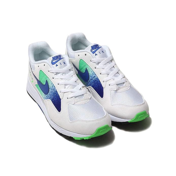 super popular c3dbd 87f8a Amazon.com   Nike Men s Air Skylon II White Green Strike Black Hyper Royal  AO1551-107   Fashion Sneakers