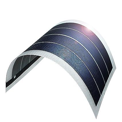 cbd505483616 Amazon.com : JIANG Solar Battery Charger Flexible Thin Film Solar Panel  Module DIY 1W 6V Cell Rechargeable Battery, Transparent : Garden & Outdoor