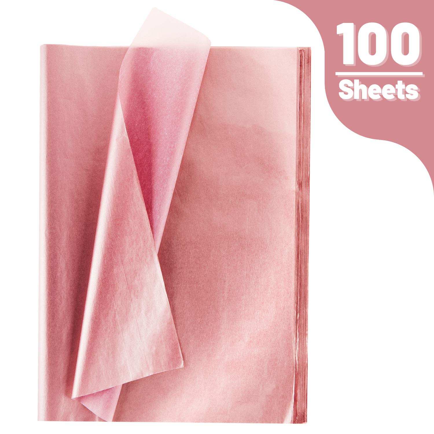 4 Sheets METALLIC SILVER Tissue Paper Gift Wrapping Acid Free 50x70cm
