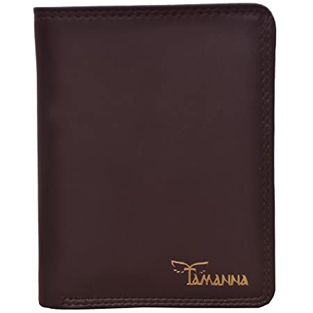 Tamanna Men Brown Genuine Leather Wallet  10 Card Slots  Wallets