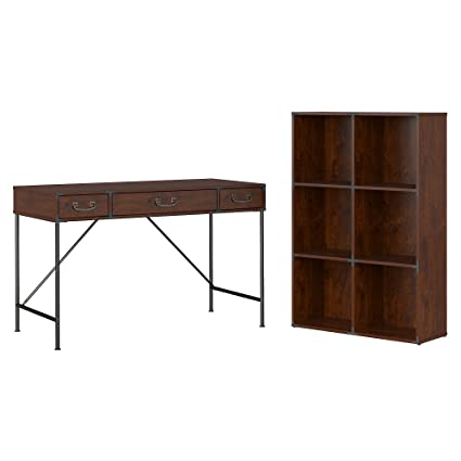 Amazoncom Kathy Ireland Home By Bush Furniture Ironworks 48w