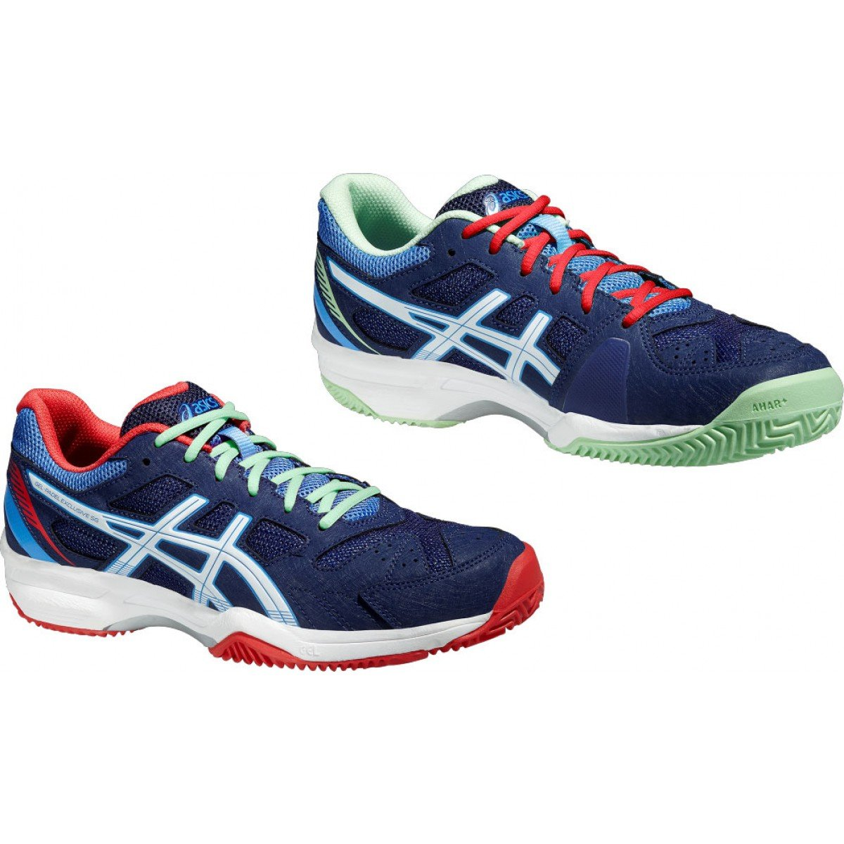 ASICS Gel Padel Exclusive 4 SG E565N INV 15 Lady: Amazon.es ...