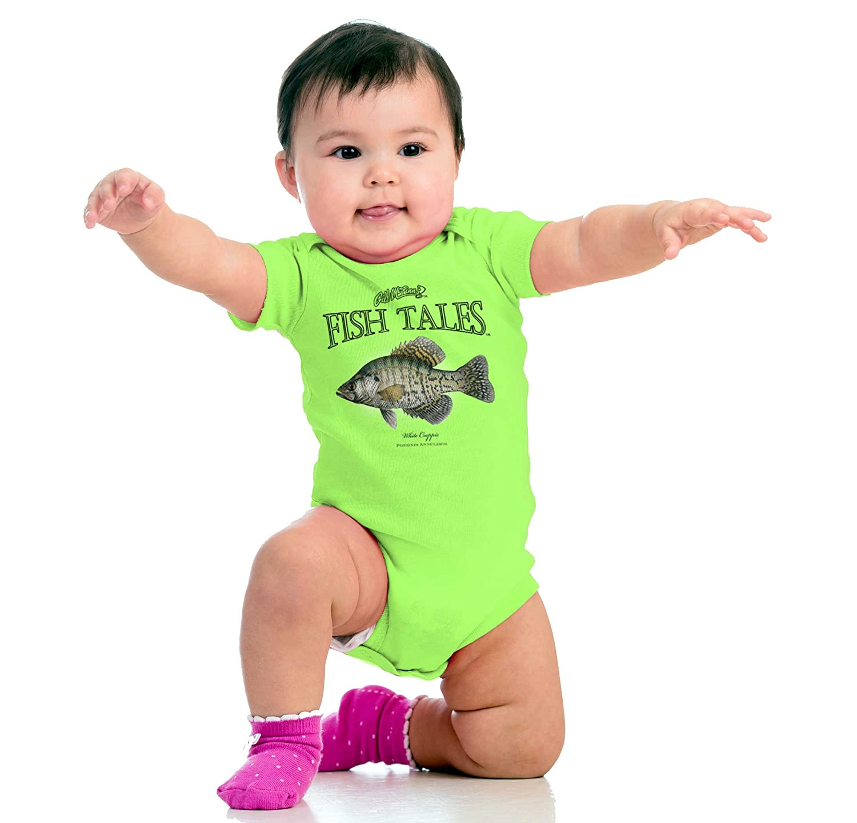 Amazon.com: Brisco Brands White Crappie Fish Sporting Goods Cool ...