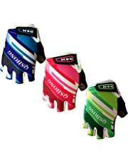c0ac1c71f Finger Ten Kids Junior Cycling Gloves Boy Girl Youth