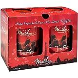 Chocolat Mathez Fine French Cocao Powdered Chocolate Truffles Fantaisie (2*17.6OZ 2*500G)