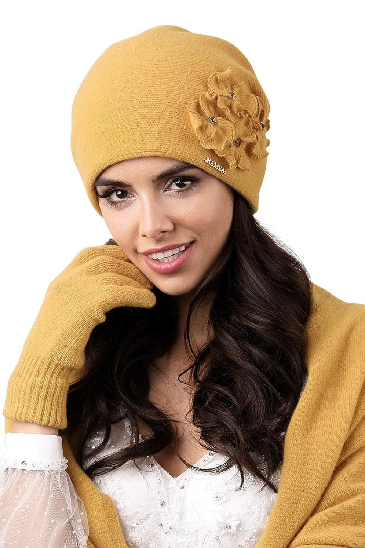 aa43cdd27e7 Kamea - Winterset Andora - Bonnet avec foulard assorti - Choix de couleur   Amazon.fr  Vêtements et accessoires