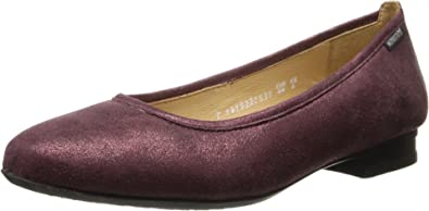Mephisto Women's Rachel Wine Fashion Flat 36 (US Women's ...
