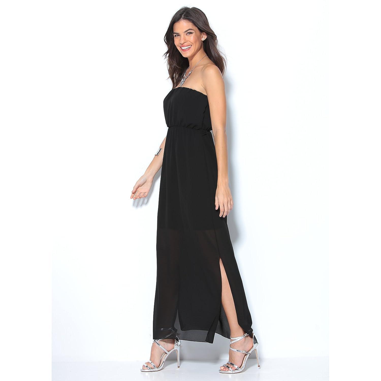 VENCA Vestido Largo sugerente Escote Palabra de Honor Mujer by Vencastyle - 001086: Amazon.es: Ropa y accesorios